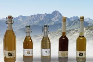 Naturprodukte, Holunder, Waldmeister, Pfefferminz, Walnuß
